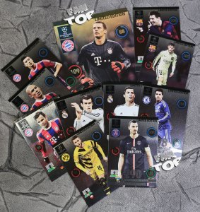 LIMITED EDITION  cards - UPDATE  Champions League 2015