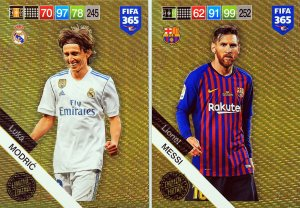 2 x XXL Limited Edition  MESSI + MODRIC - FIFA 2019