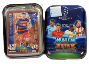 POCKET TIN  MESSI BRONZE Limited   - CHAMPIONS LEAGUE 2015-2016