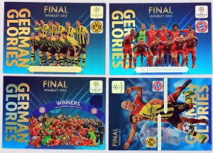 German Glories FINAL - Champions League 2013-2014 Panini Adrenalyn XL - limited