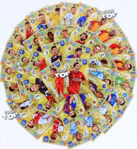 61cards set Limited Edition FIFA 365 2020