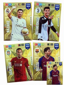 4 cards set  XXL Limited Edition   - FIFA 2020