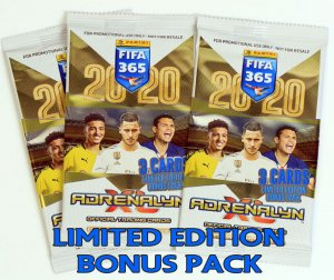 BONUS PACK booster Limited Edition FIFA 365 2020