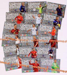 EURO 2020 - 18 card set LIMITED EDITION