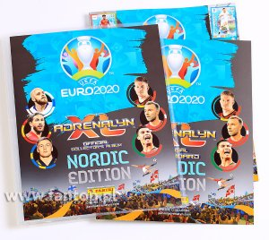 NORDIC Album Binder + game board and guide  - EURO 2020