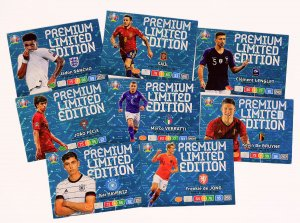 8 cards SET -  PREMIUM Limited EURO 2020