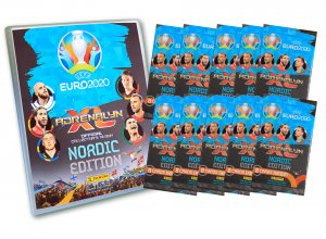 NORDIC Album + 10 booster packs  - EURO 2020