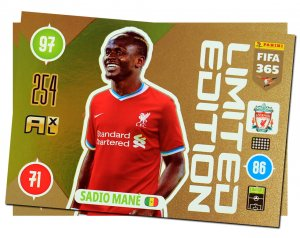 MANE XXL Limited Edition card FIFA 2021