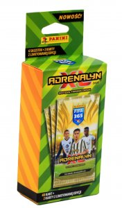 BLISTER 6 boosters + 2 limited  FIFA 2021
