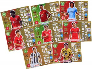 8 new cards set - Limited Edition FIFA 2021