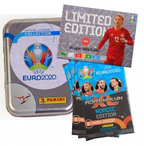 NORDIC Pocket TIN 4 booster + 1 Limited select - EURO 2020