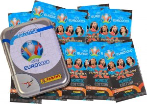 10 x NORDIC  booster packs + TIN Limited  - EURO 2020
