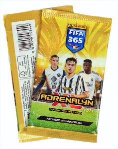100 x Booster packs  FIFA 2021