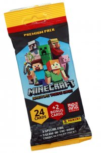 PREMIUM FAT PACK - 26  cards - MINECRAFT