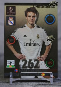 Martin ODEGAARD  LIMITED EDITION Real Madryt - UPDATE 2015