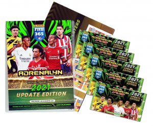 ALBUM / BINDER + 5 booster packs -  UPDATE Fifa 365 2021