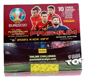 2021 KICK OFF -  BOX 10 x Premium  pack - UEFA EURO 2020