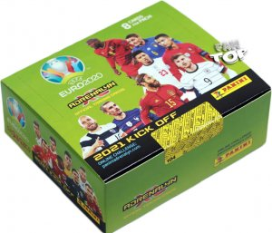 2021 KICK OFF -  BOX  24 x booster pack - UEFA EURO 2020