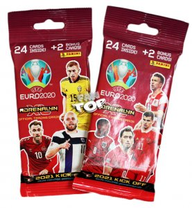 2021 KICK OFF - FAT PACK 26 cards booster - UEFA EURO 2020