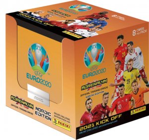 NORDIC 2021 KICK OFF -  BOX 50 x booster packs  - UEFA EURO 2020