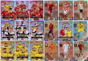 18 cards full set NORDIC EDITION - 2021 KICK OFF EURO