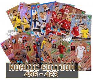 NORDIC cards Scandinavian Game Changer  - 2021 KICK OFF EURO