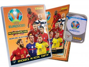 ALBUM  + Tin + cards - 2021 KICK OFF - UEFA EURO 2020