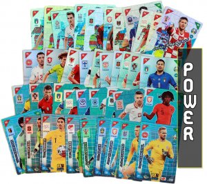 45 cards full set POWER  298 - 342   - 2021 KICK OFF EURO
