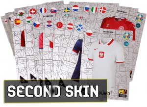 24 cards full set SECOND SKIN  - 2021 KICK OFF EURO