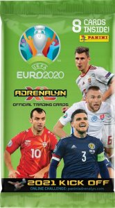 2021 KICK OFF -  booster pack 8 cards  - UEFA EURO 2020