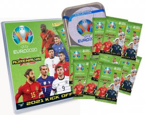 2021 KICK OFF - Album + 10 booster packs  -  UEFA EURO 2020