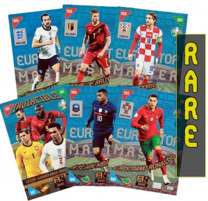 9 cards full set RARE  - 2021 KICK OFF EURO