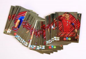 40 cards set  Limited Edition - WORLD CUP Russia 2018