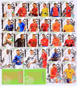 26 cards set   LIMITED Edition - ROAD to EURO 2020