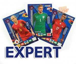 EXPERT cards select - ROAD to WORLD CUP Russia 2018