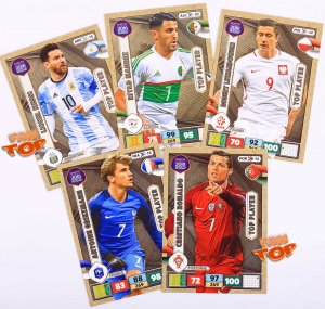 TOP PLAYER cards  -  ROAD to World Cup Russia 2018