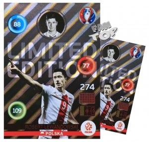 EURO 2016 -   XXL Limited Edition - LEWANDOWSKI shiny