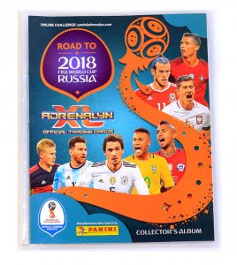 2018  ROAD TO WORLD CUP  - ALBUM + poster