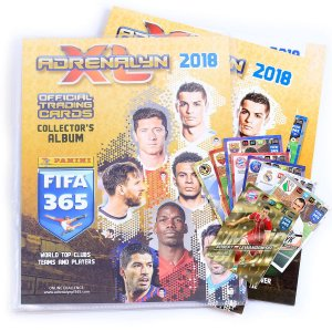 ALBUM + 30 cards +  1 Limited FIFA 2018