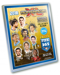 NORDIC - ALBUM + game board FIFA 2018