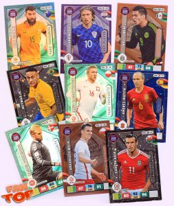Cards sets -  ROAD to World Cup Russia 2018