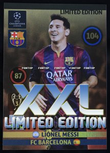 MESSI XXL Limited Champions League 14/15