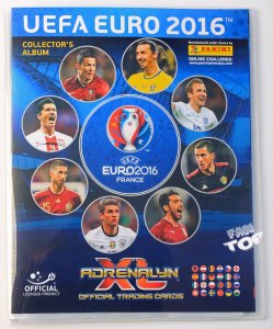 2016 EURO  -  ALBUM  + 30 cards + 1 limited