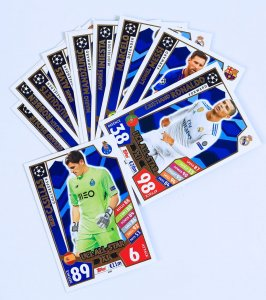 UCL ALL STAR XI  - cards select - 2017 /2018 Champions League  TOPPS