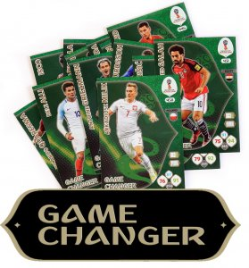 GAME CHANGER - cards select - WORLD CUP Russia 2018