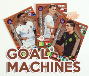 GOAL MACHINE  cards select - ROAD to WORLD CUP Russia 2018