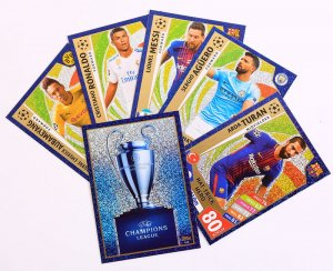 HAT TRICK HERO + Trophy - cards select -  2017 /2018 Champions League  TOPPS