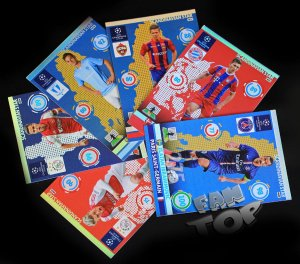 full set 6 cards SCANDINAVIAN STAR -  Champions League 2015  - NORDIC EDITION