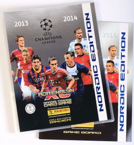 2013 /14 - ALBUM NORDIC   Champions League  panini