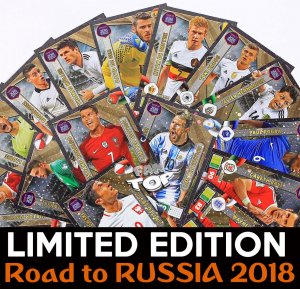 01 Limited Edition  - cards select -  ROAD TO WORLD CUP 2018